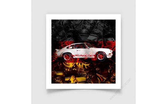 Porsche Carrera RS 911 Tirage d'art