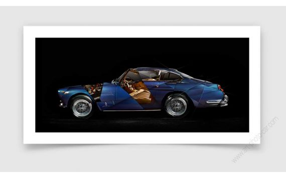 Ferrari 250 GTE Photo - Signed & Limited Fine Art Print