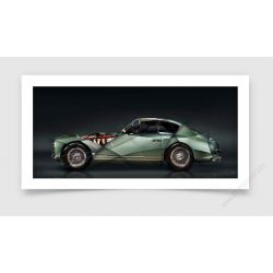 Tirage d'art Aston Martin DB2 II
