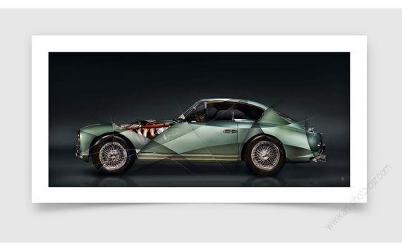Aston Martin DB2 Fine art print