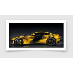 Fine Art Print Ferrari F12