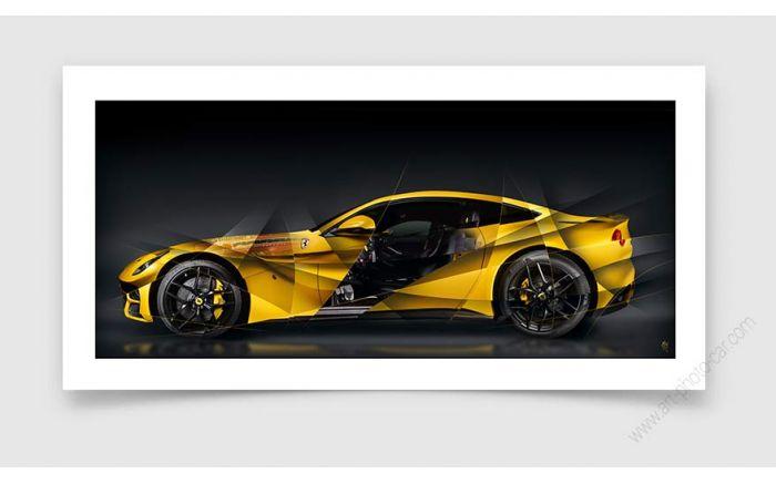 Ferrari F12 Tirage d'art