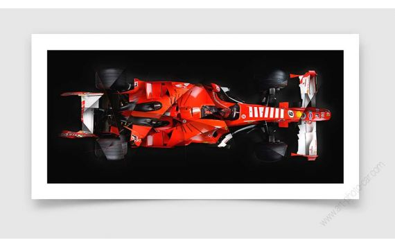 Ferrari F248 Formula 1 Photo - Signed & Limited Fine Art Print