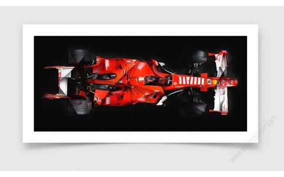 Ferrari F248 Formula 1 Photo - Signed & Limited Fine Art Print
