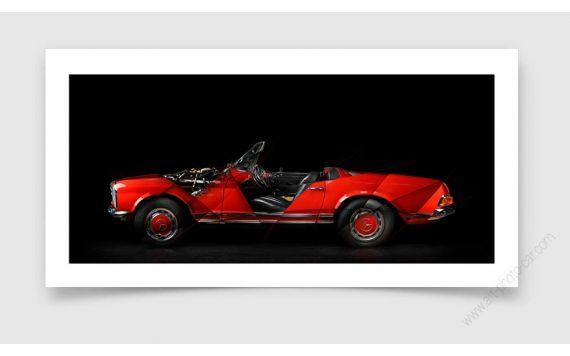 Mercedes Pagode Photo - Signed & Limited Photography