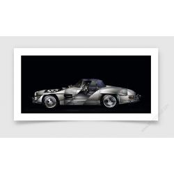 Tirage d'art Mercedes 300SL II Roadster