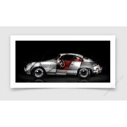Fine Art Print Porsche 356 A Carrera GS 1500