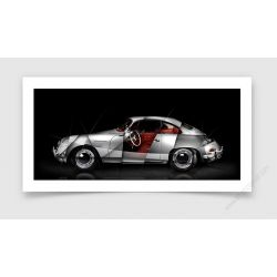 Tirage d'art Porsche 356 A Carrera GS 1500