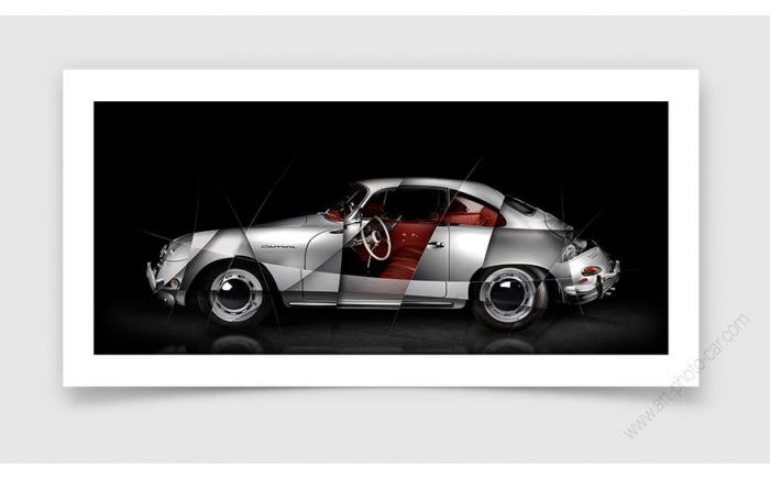 Porsche 356 Carrera GS Tableau photo