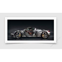 Fine Art Print Porsche Carrera GT