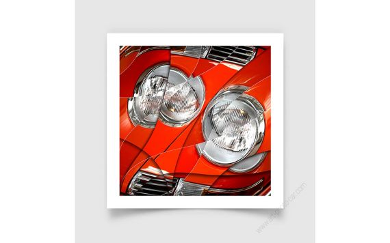 Porsche 911 Targa - Tirage d'art signé & limité