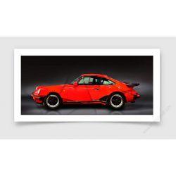 Fine Art Print Porsche 911 type 930 Turbo 1988 II