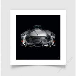 Tirage d'art Aston Martin DB5 I
