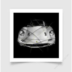 Fine Art Print Ferrari Dino 246 GT F
