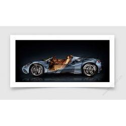 Fine Art Print Ferrari 488 Tailor Made