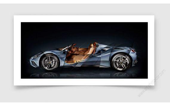 Ferrari 488 Tailor Made Photographie d'Art