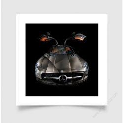 Tirage d'art Mercedes SLS I