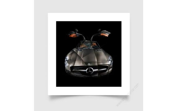 Mercedes SLS AMG - Signed & Limited Fine Art Print