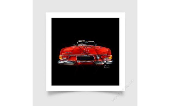 Tirage d'art Mercedes Pagode III