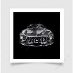 Fine Art Print Mercedes AMG GT Edition 50 I