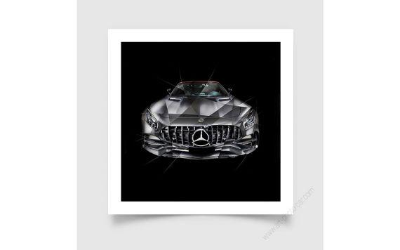 Tirage d'art Mercedes AMG GT Edition 50 I