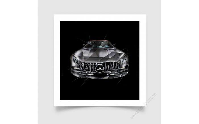 Fine Art Print Mercedes AMG GT Edition 50