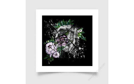 Watches & Haute horlogerie Richard Mille RM19-01 Tourbillon Flower, Signed & Limited fine art print