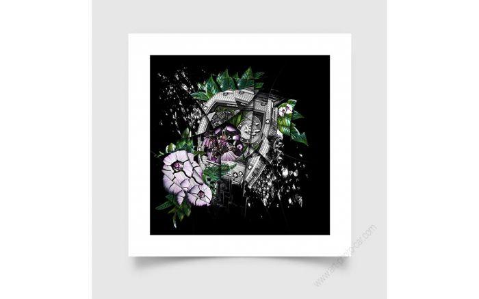 Tirage d'art Montre & Horlogerie Richard Mille RM19-01 Tourbillon Fleur