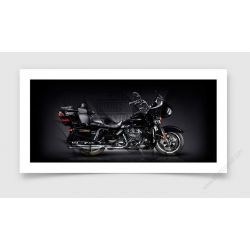 Tirage d'art Harley Davidson Road Glide Ultra
