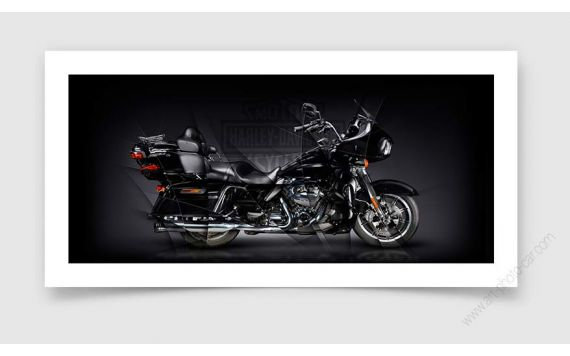 Harley Davidson Motorcycle Fine Art Print