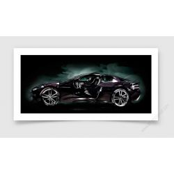 Aston Martin DBS Photo - Photographie signée & limitée