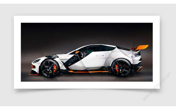 Aston Martin GT12 Photo   Signed & Limited Photography