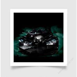 Fine Art Print Aston Martin DBS 2016 II