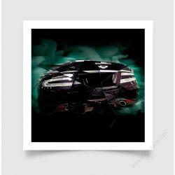 Tirage d'art Aston Martin DBS 2016 III
