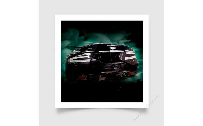 Aston Martin DBS Photo - Signed & Limited Fine Art Print