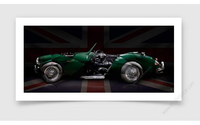 Austin Healey Photo - Signed & Limited Photography
