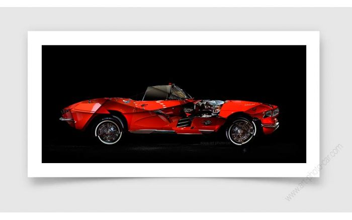 Corvette C1 Photo - Signed & Limited Fine Art Print