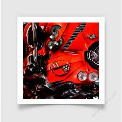 Fine Art Print Corvette C1III