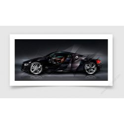 Tirage d'art Audi R8