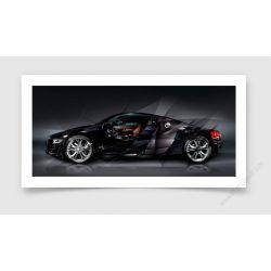 Fine Art Print Audi R8
