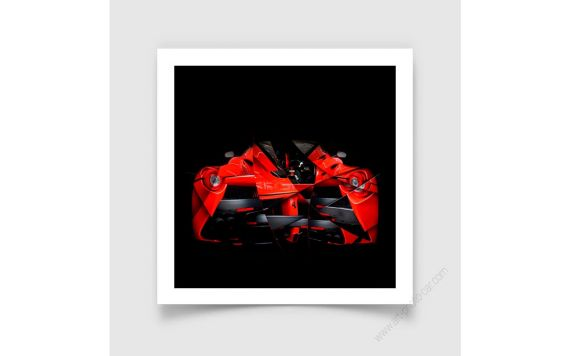 LaFerrari Tirage d'art automobile