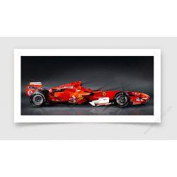Tirage d'art Formule 1 Ferrari