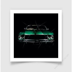 Tirage d'art FORD MUSTANG I