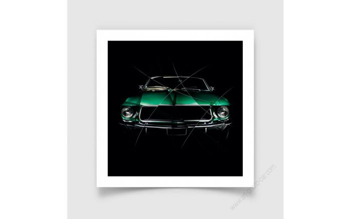 Art Photography painting FORD MUSTANG I
