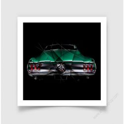 Fine Art Print FORD MUSTANG III