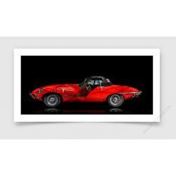 Fine Art Print Jaguar Type E II