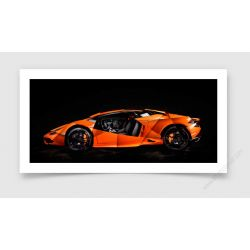 Tirage d'art Lamborghini Huracan