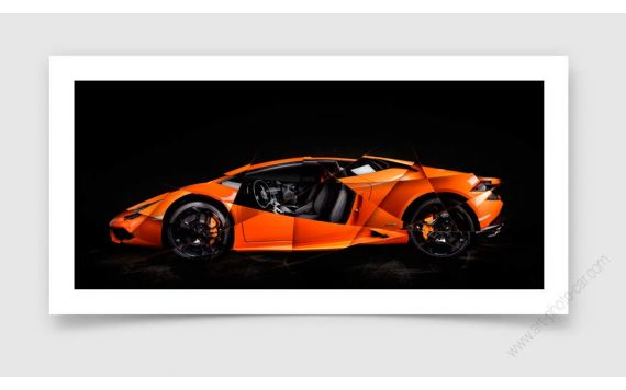 Lamborghini Huracan Photo - Photographie signée & limitée