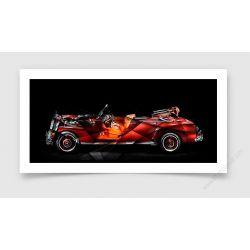 Tirage d'art Mercedes 300 Adenauer I
