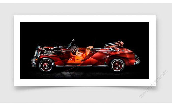 Mercedes 300 Adenauer Photo d'art